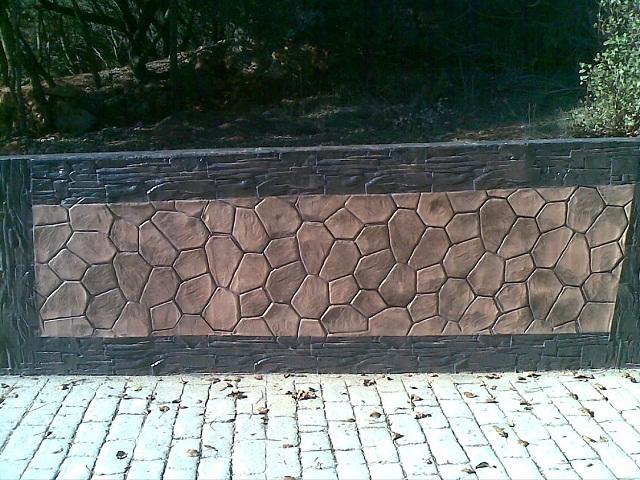 Lumicret pavimento impreso - Hormigon impreso badajoz ...